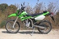 קוואסאקי KLX 250  מבחן דרכים