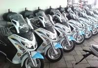 80 קטנועי סאן יאנג ג'וי מקס נמסרו למשטרה