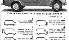 פורד טרנזיט 1969