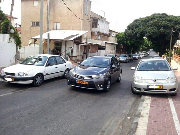 טויוטה קורולה החדשה וקורולה דור 9 ו-8 ( wheel )
