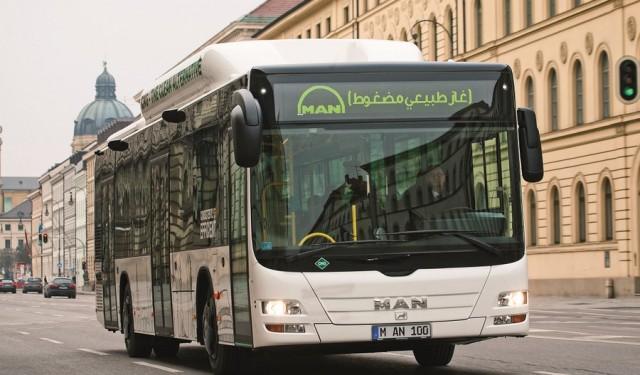 MAN חוגגת 50 שנה בישראל ומשיקה לראשונה בארץ אוטובוס מונע בגז