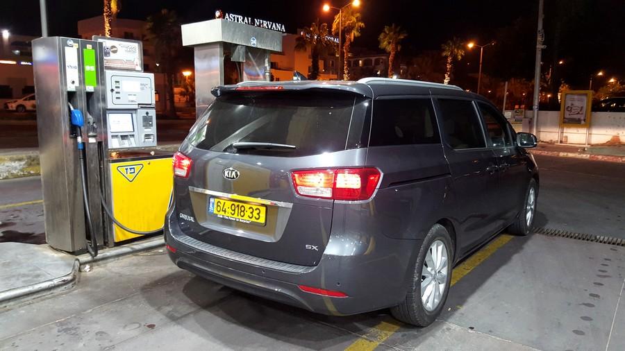 קיה קרניבל החדשה - חסכונית יחסית בדלק