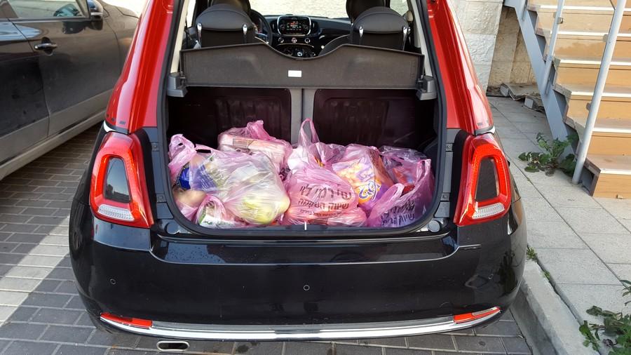 פיאט 500 החדשה - תא מטען מספק לזוג צעיר