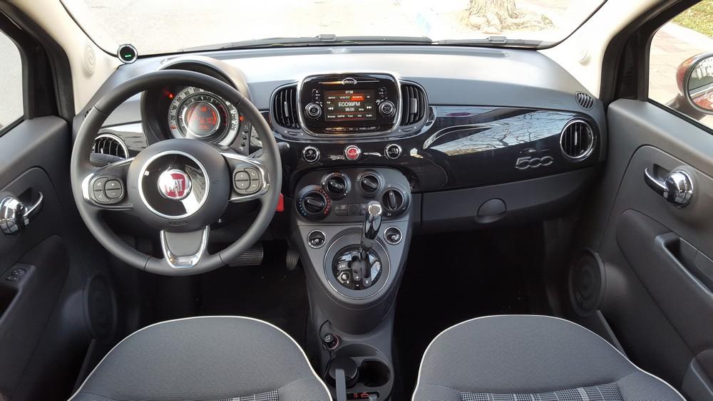 פיאט 500 החדשה - עדכונים מתבקשים בסביבת הנהג