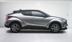 טויוטה C-HR – קרוסאובר חדש בעל עיצוב נועז