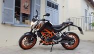 KTM דיוק 390 מבחן דרכים : האופנוע הנמכר בישראל