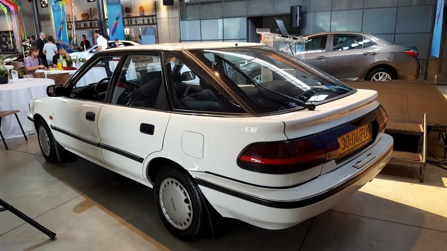 טויוטה קורולה 1992 - המכונית הראשונה של טויוטה שעלתה לכביש בישראל