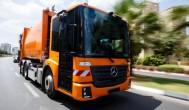 אורחת בארץ: משאית מרצדס המונעת בגז טבעי