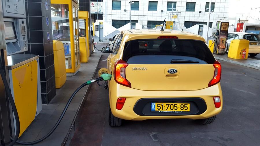 """קיה פיקנטו 2017 : צריכת דלק של 12.5 ק""""מ לליטר במבחן"""