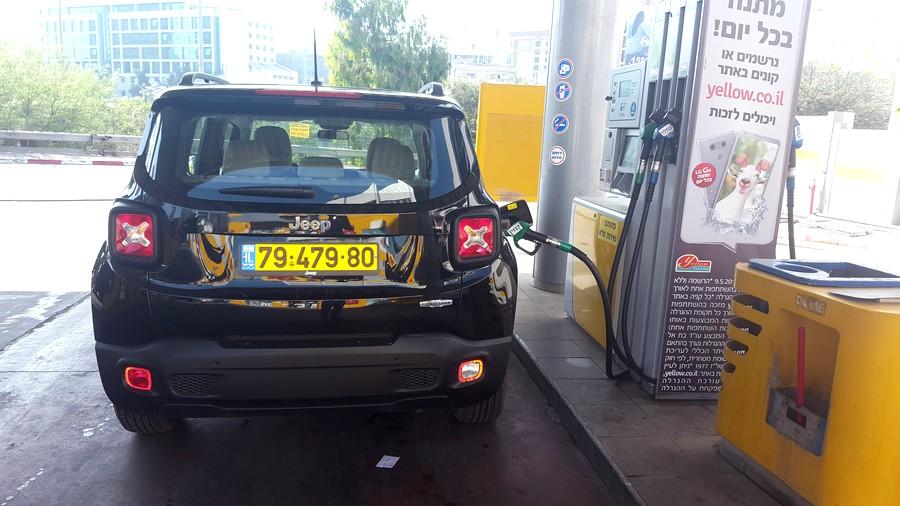 """צריכת דלק של 11.5 ק""""מ לליטר במבחן"""