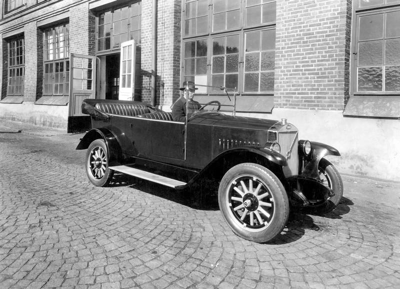 וולוו OV 4 - הרכב הראשון בתולדות וולוו - מכר 275 עותקים בלבד