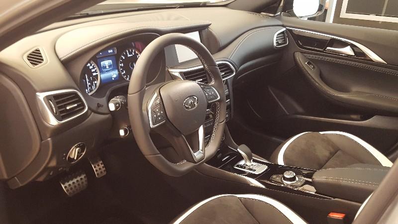 ענק אינפיניטי Q30 בישראל: חזקה, חסכונית ותחרותית - Wheel HI-98