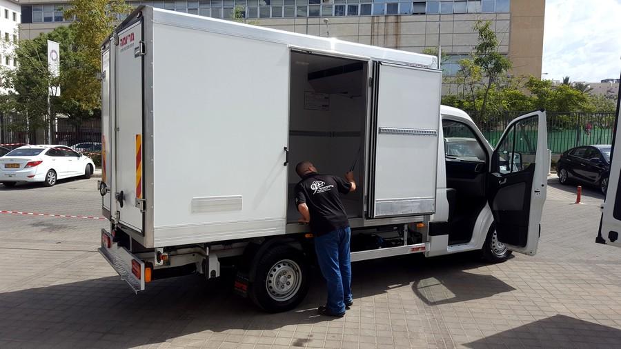 מודרניסטית יונדאי ישראל נכנסת לשוק המסחריות - Wheel JY-19