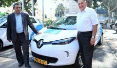 פרוייקט הרכב השיתופי החשמלי של CAR2GO הושק בחיפה!