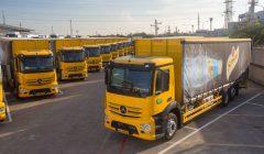 24 משאיות מרצדס נמסרו ליפאורה תבורי