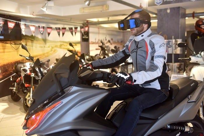 נסיעת מבחן באמצעות טכנולוגיית VR בעופר אבניר. קרדיט אסף רחמים