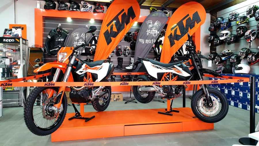 KTM אנדורו 690R ו-SMC 690R החדשים