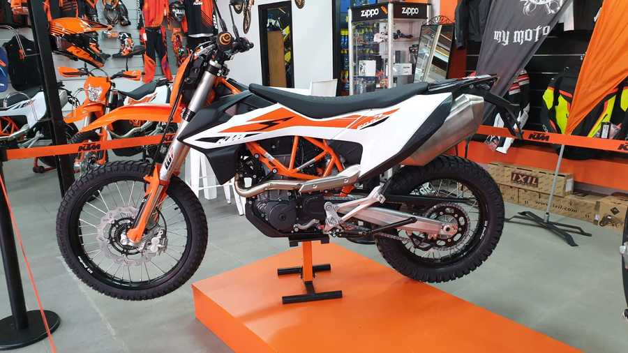 KTM אנדורו 690 R החדש 2019