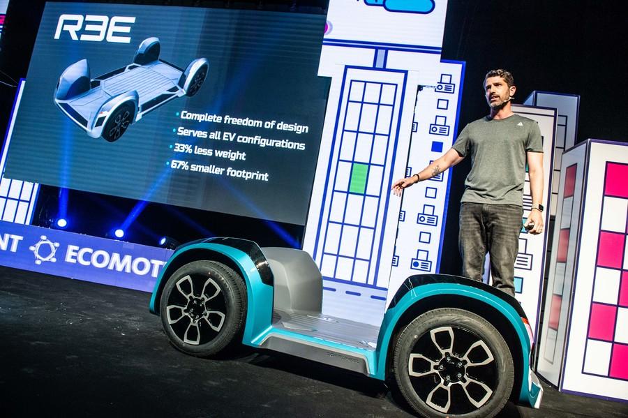 פלטפורמה מתקדמת לרכבים חשמליים של Softwheel