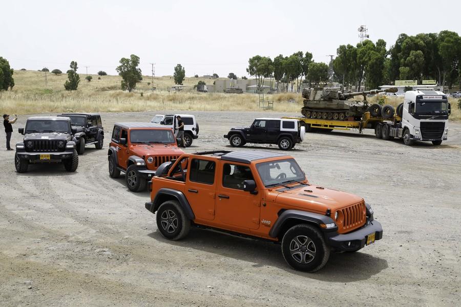 אירוע Camp Jeep Israel