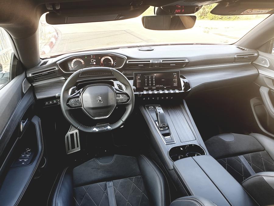 פיג'ו 508 פאסטבק GT החדשה