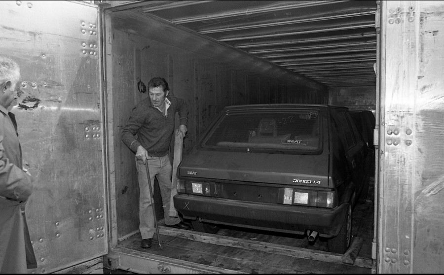 סיאט רונדה מגיעה לישראל 1983