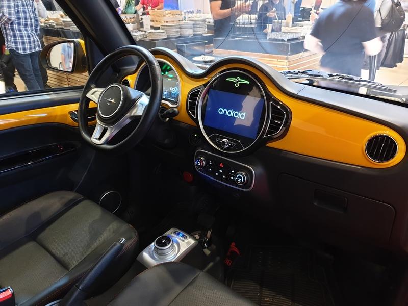 מכונית חשמלית Sunshine M2