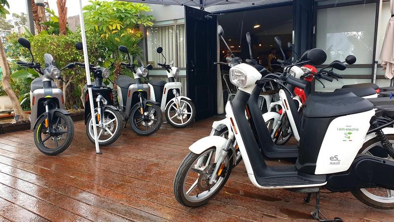 קטנועי אסקול החשמליים