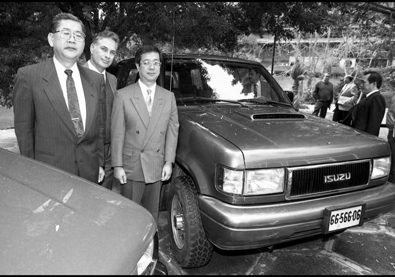 איסוזו טרופר 1993